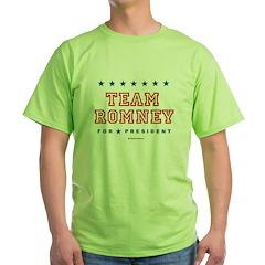 Team Romney Green T-Shirt