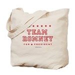 Team Romney Tote Bag