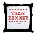 Team Romney Throw Pillow