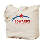 Edwards for President Tote Bag