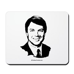 John Edwards Face Mousepad