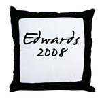 Edwards 2008 Throw Pillow