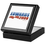 John Edwards 2008 Keepsake Box