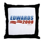 John Edwards 2008 Throw Pillow