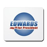 John Edwards for President Mousepad