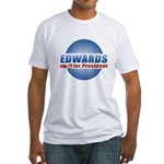 John Edwards for President Fitted T-Shirt