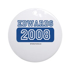 Edwards 2008 Ornament (Round)