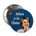 Ten Indiana is for Clinton Buttons