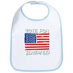 Vote for John Edwards Bib