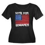 Vote for John Edwards Women's Plus Size Scoop Neck