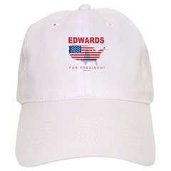 Edwards for President Cap