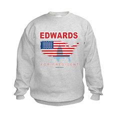 Edwards for President Kids Sweatshirt