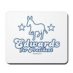 Edwards for Presiden Mousepad