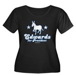 Edwards for Presiden Women's Plus Size Scoop Neck