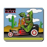 Rat fink Mousepad