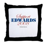 Support Edwards Throw Pillow