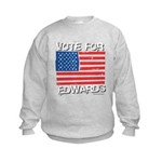 Vote for Edwards Kids Sweatshirt