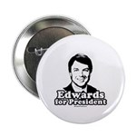 Edwards for President Button
