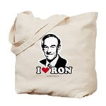 I Love Ron Paul Tote Bag
