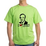 I Love Ron Paul Green T-Shirt