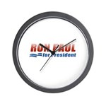 Ron Paul for President Wall Clock