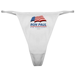 Ron Paul for President Classic Thong
