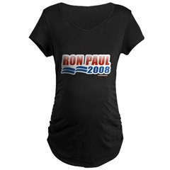 Ron Paul 2008 Maternity Dark T-Shirt