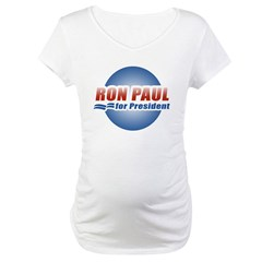 Ron Paul for President Maternity T-Shirt