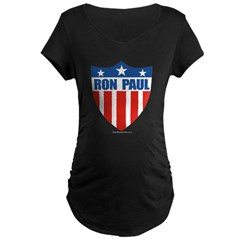 Ron Paul Maternity Dark T-Shirt