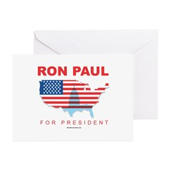 Ron Paul for President Greeting Cards (Pk of 20)