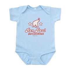 Ron Paul for President Infant Bodysuit