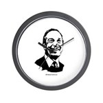Michael Bloomberg Face Wall Clock