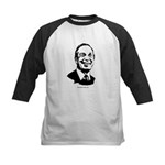 Michael Bloomberg Face Kids Baseball Jersey