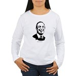 Michael Bloomberg Face Women's Long Sleeve T-Shirt