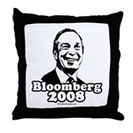 Bloomberg 2008 Throw Pillow
