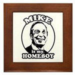 Mike Bloomberg is my homeboy Framed Tile