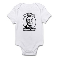 Mike Bloomberg is my homeboy Infant Bodysuit