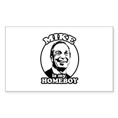 Mike Bloomberg is my homeboy Rectangle Sticker