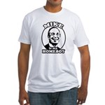 Mike Bloomberg is my homeboy Fitted T-Shirt