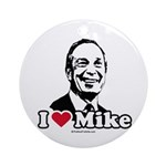 I Love Michael Bloomberg Ornament (Round)