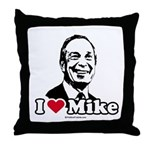 I Love Michael Bloomberg Throw Pillow