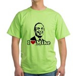 I Love Michael Bloomberg Green T-Shirt