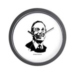 Mike Bloomberg Face Wall Clock