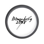 Bloomberg Autograph Wall Clock