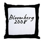 Bloomberg Autograph Throw Pillow