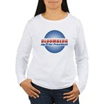 Bloomberg for President Women's Long Sleeve T-Shir