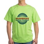 Bloomberg for President Green T-Shirt