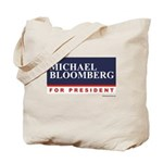 Michael Bloomberg for President Tote Bag