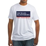 Michael Bloomberg for President Fitted T-Shirt