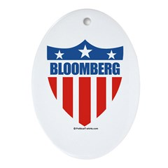 Bloomberg Oval Ornament
